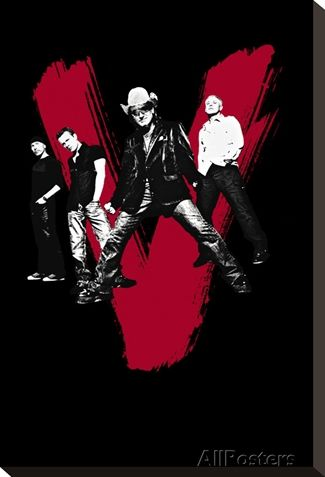 Concert Poster: U2 Stretched Canvas Print at AllPosters.com