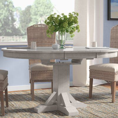 Rutledge Extendable Rubberwood Solid Wood Dining Table Solid Wood Dining Table Oval Table Dining Wood Dining Table