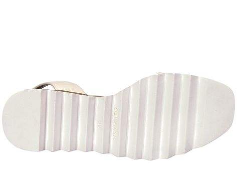 6a4b8c39057 Sol Sana Tray Wedge Sandal Women s Wedge Shoes White 2