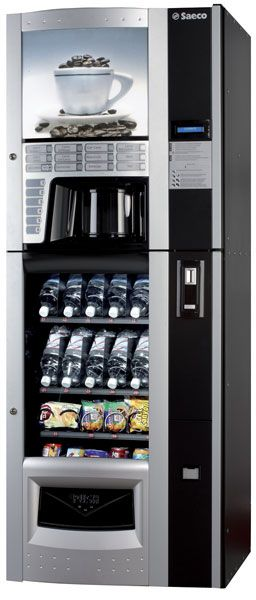 Saeco Diamante Coffee Snack And Soda Vending Machine Vending