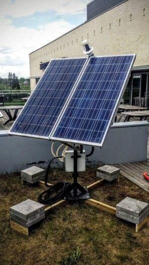 Dual Axis Solar Tracker With Online Energy Monitor Solarpanels Solarenergy Solarpower Solargenerator Solarpanel Solar Tracker Solar Panels Solar Energy Panels
