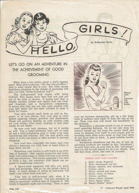 TBT Hello, Girls!