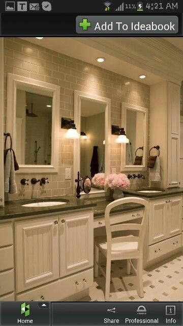 Bathroom Vanity With Sitting Area Bathroomvanities Master