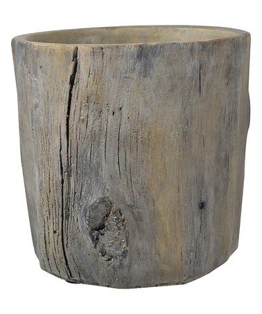 Faux Wooden Vase Zulily Zulilyfinds Cement Pots A B Home Wooden Vase