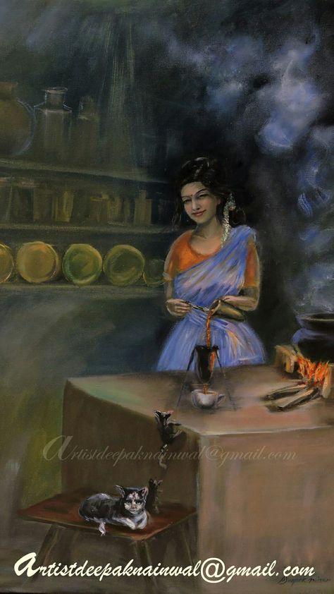 color #chaimaker #indianartist #tea...
