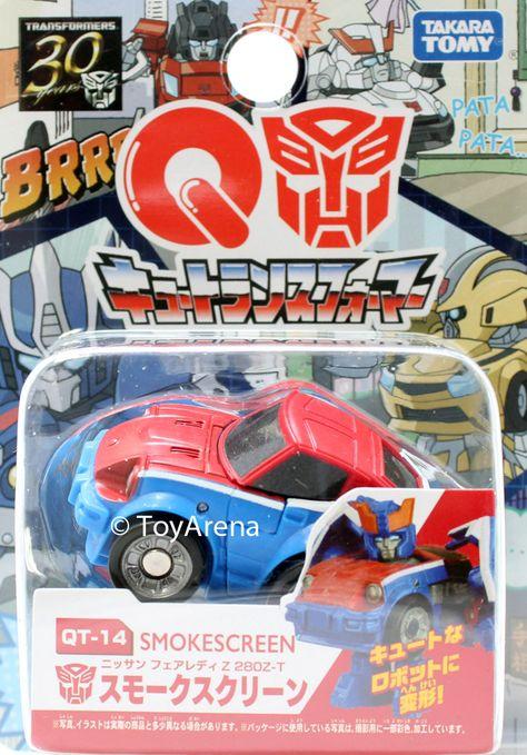 Takara Tomy Q Transformers 30th choro-Q QTF Model car Robot action figure