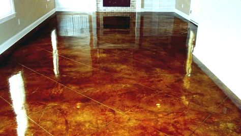 Staining Concrete Floors Stained Floor Cost How Much Does