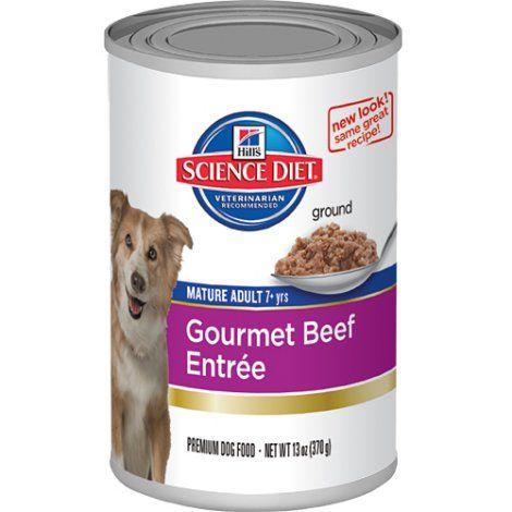 Science Diet Active Longevity Gourmet Beef Dog Food Case 12 13 Oz