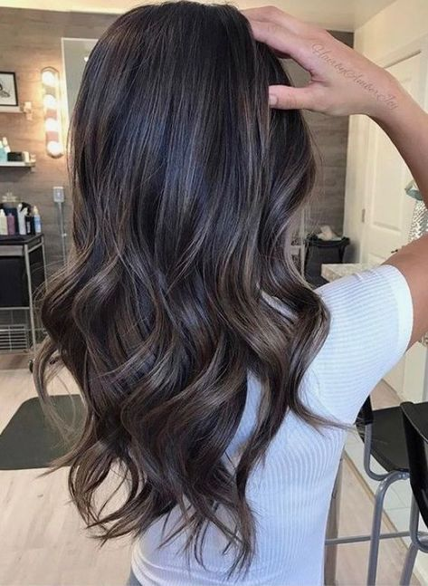 45 Hair Color Ideas For Brunettes For Fall Winter Summer Koees Blog Brunette Balayage Hair Hair Styles Balayage Brunette