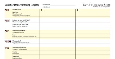 Best Social Media Marketing Plan Template  Marketing Plan