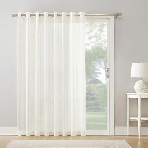 Armin Sheer Voile Grommet Extra Wide Door Curtain Panel Panel