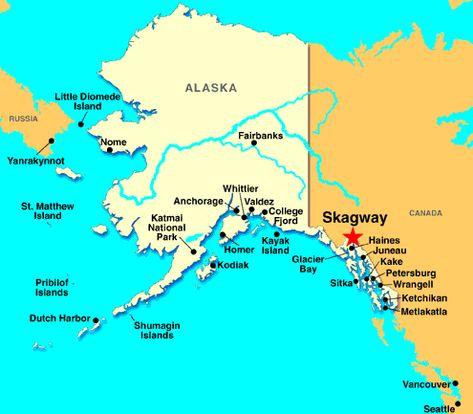 Where Is Skagway On A Map   skagway alaska skagway ...