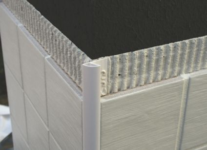 Genesis 10mm White Round Edge Tile Trim Etr108 01 Tile Trim Home Decor Home