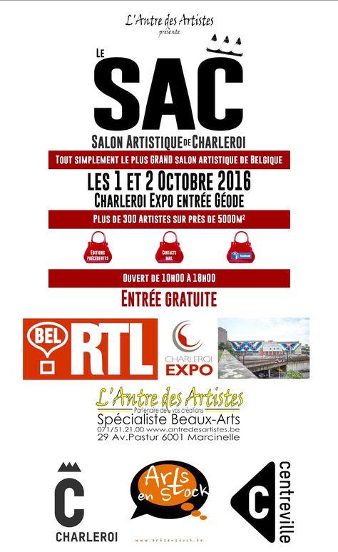 Le groupe ACG-ART de Fontaine-lu0027Évêque participe au SAC (Salon - Dessiner Maison D Gratuit