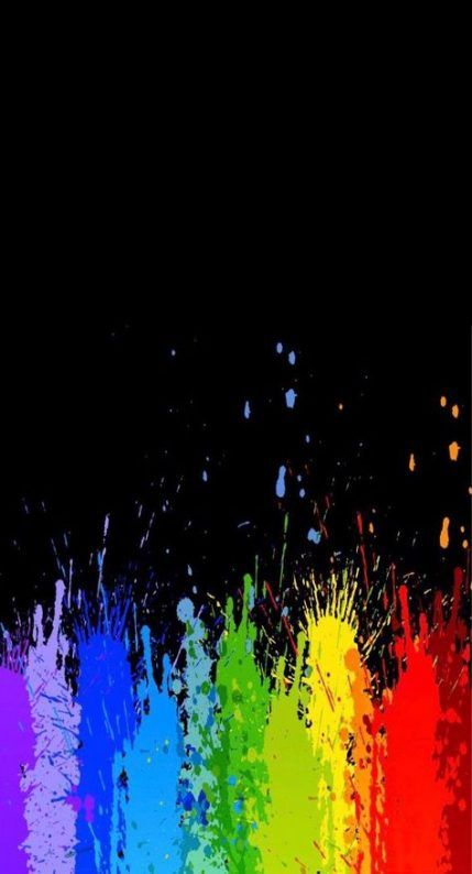 40 Trendy Painting Simple Mobiles Rainbow Wallpaper Cute Wallpaper Backgrounds Wallpaper