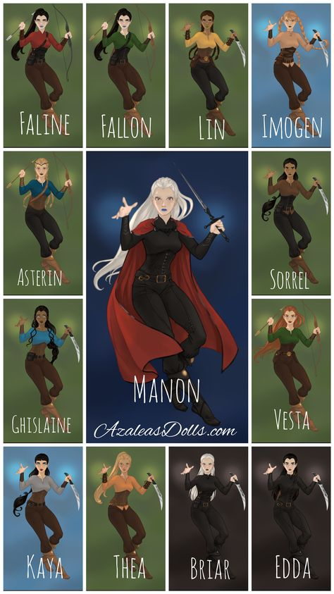 As Treze é uma aliança de bruxas Dentes de Ferro do Clã Bico Negro a comando de Manon Bico Negro. A segunda no comando é Asterin Bico Negro e a terceira, Sorrel Bico Negro. Estas personagens fazem parte do universo da saga Trono de Vidro da autora Sarah J. Maas. Aparecem pela primeira vez no terceiro livro Herdeira do Fogo (Heir of Fire). #TronodeVidro #ThroneofGlass #SarahJMaas #AsTreze #TheThirteen