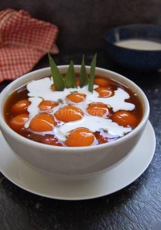 Resep Bubur Candil Ubi Orange Oleh Fitri Sasmaya Resep Makanan Resep Ubi