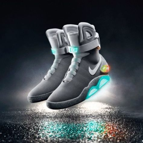 Back to the Future 2 Light Up Shoes Now you can purchase Back To The Future  - Marty McFly's light up shoes. (well almost) #tech #geek | Pinterest |  Future, ...