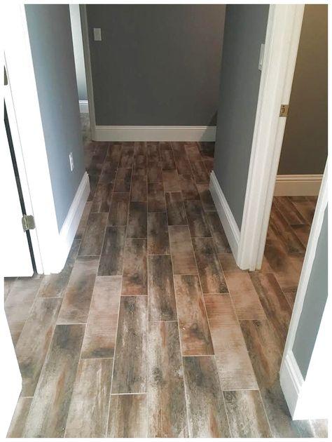 Mohawk-Treyburne-Antique Amaretto. Wood look tile #FlooringIdeas click the image for more details.