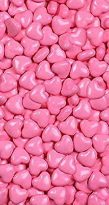 Amazon.com : Light Pink Hearts Sweet Shapes 1 LB Bag : Grocery & Gourmet Food