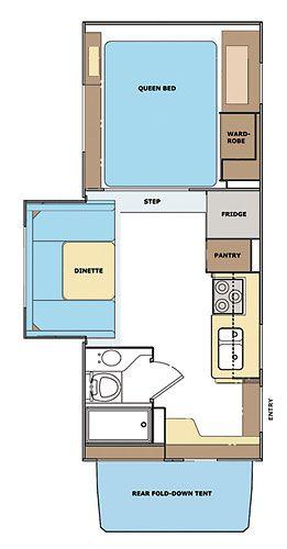 Lance 1191 Floor Plan