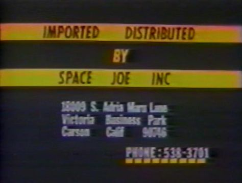 Space Joe Incorporated:  For All Your Space Joe Needs  let's anime: Yuusha Raideen, UHF Subtitles & The Great Fuji-TV Freakout Of 1998