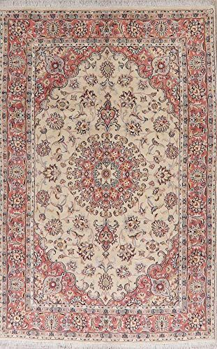 6x10 Tabriz Persian Floral Area Rug Wool Hand Knotted Traditional Carpet For Dining Room 6 5 X 9 11 Wool Area Rugs Floral Area Rugs Washable Area Rugs