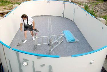 Aufbau Von Stahlwand Pools In 9 Schritten Lebenunterfreiemhimmel Ovalpool Aufbau Stahlwand Montieren Solar Pool Pool Pool Liners