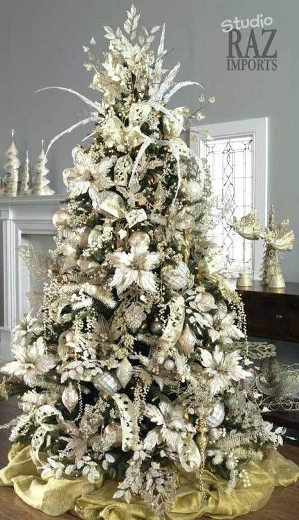 Christmas Decorating Ideas Houzz Elegant Christmas Trees White