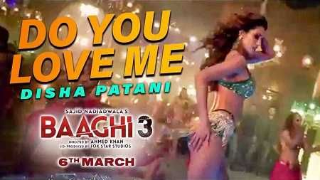Do You Love Me Song Mp3 Download Nikhita Baaghi 3 2020 In 2020