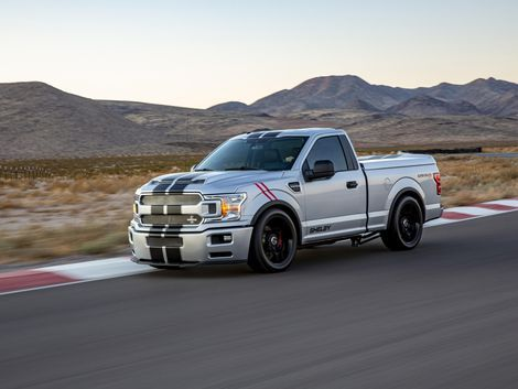 Shelby Super Snake Sport F 150 Shows Its Fangs Shelby Truck Super Snake Sport Truck