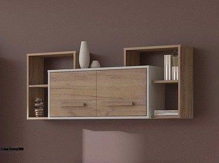 حصريا مكتبة حائط خشب كنتر طبيعي فورمايكا بسعر خيالي الحق العرض قبل نفاذ الكبيه Interior Instahome Home Decor Furniture Home Decor