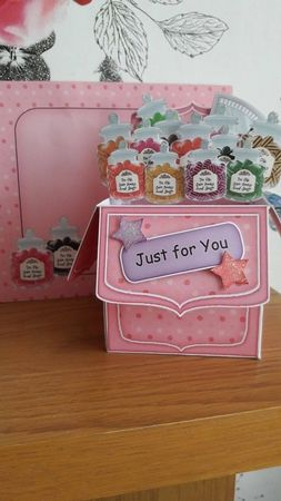 Pop Up Box Card kit in White