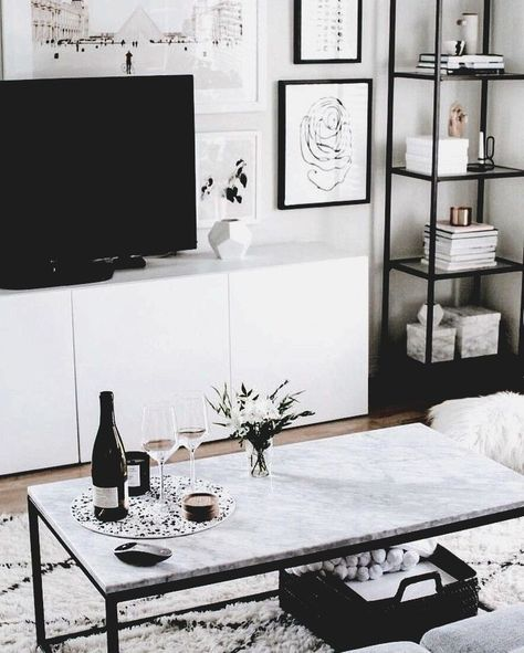 living room inspo | Marble coffee table set up, entertainment set up #c ...#coffee #entertainment #inspo #living #marble #room #set #table