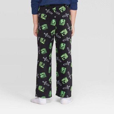 Minecraft Boys Creeper Lounge Pants