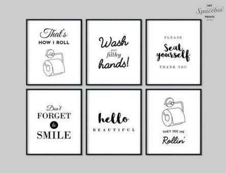 21 Ideas Bath Art Printable Wall Decor For 2019 Bathroom Printables Funny Bathroom Decor Bathroom Art Printables