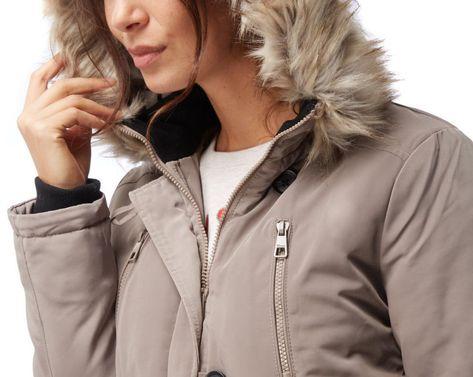 best loved 89b38 6cdaa Tom #Tailor #Damen Winterjacke #Parka #Mantel #taupe Neu Gr ...