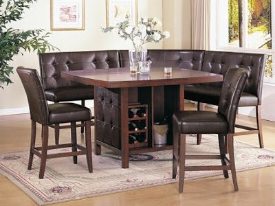 Booth Style Dining Room Sets | Unique My Home