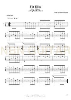 für elise gitarre