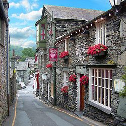Slate Houses in the Lake District
