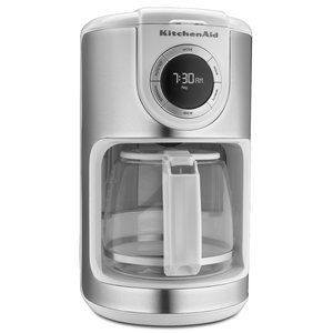 The Kitchenaidu00ae 12 Cup Glass Carafe Coffee Maker Features A