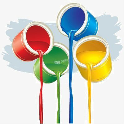 Fun Color Paint Bucket Vector Png And Clipart Fun Colors Paint Buckets Color