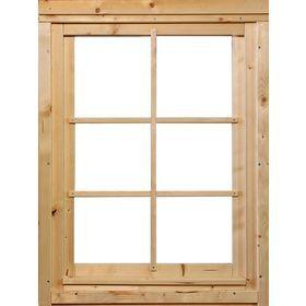 Weka Fenster Bxh 69x79 Cm Fichtenholz Geeignet Fur Weka Blockbohlenhaus Jens Online Kaufen Otto Fichten Blockbohlenhaus Holz