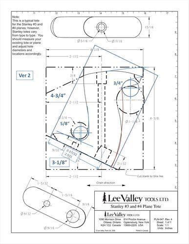 Handplanes 4 Custom Hand Plane Totes Stanley Lv Veritas By