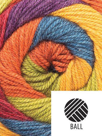 Plymouth Yarn Hot Cakes Autumn Mix Crochet Symbols Plymouth Yarn