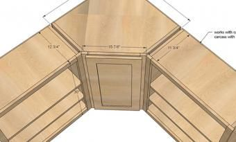 Blueprint Of Kitchen Cabinets Where They Designed The Corner Away In 2020 Corner Kitchen Cabinet Kitchen Cabinet Sizes Corner Cabinet Solutions