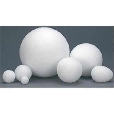Hygloss Products White Styrofoam Balls for Arts and Crafts  1 Inch 100 Pack