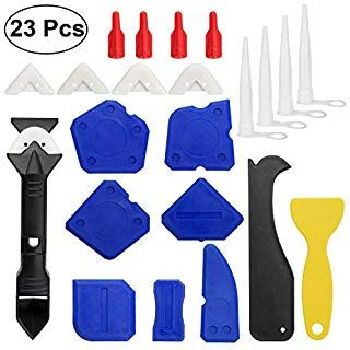 Dap 09125 8 Piece Pro Caulk Tool Kit Blue Hand Tool Sets Amazon Com Caulking Tools Finishing Tools Caulking