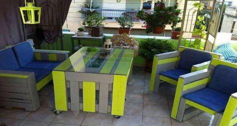 Faire table palette bois pour le jardin en 2019 | Salon de ...