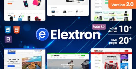 Elextron - Electronics & Digital Store for Responsive WordPress WooCommerce Theme - ThemeKeeper.com